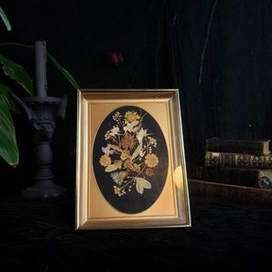 Beautiful framed dried flowers!